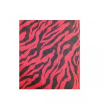 Keten zebra şal